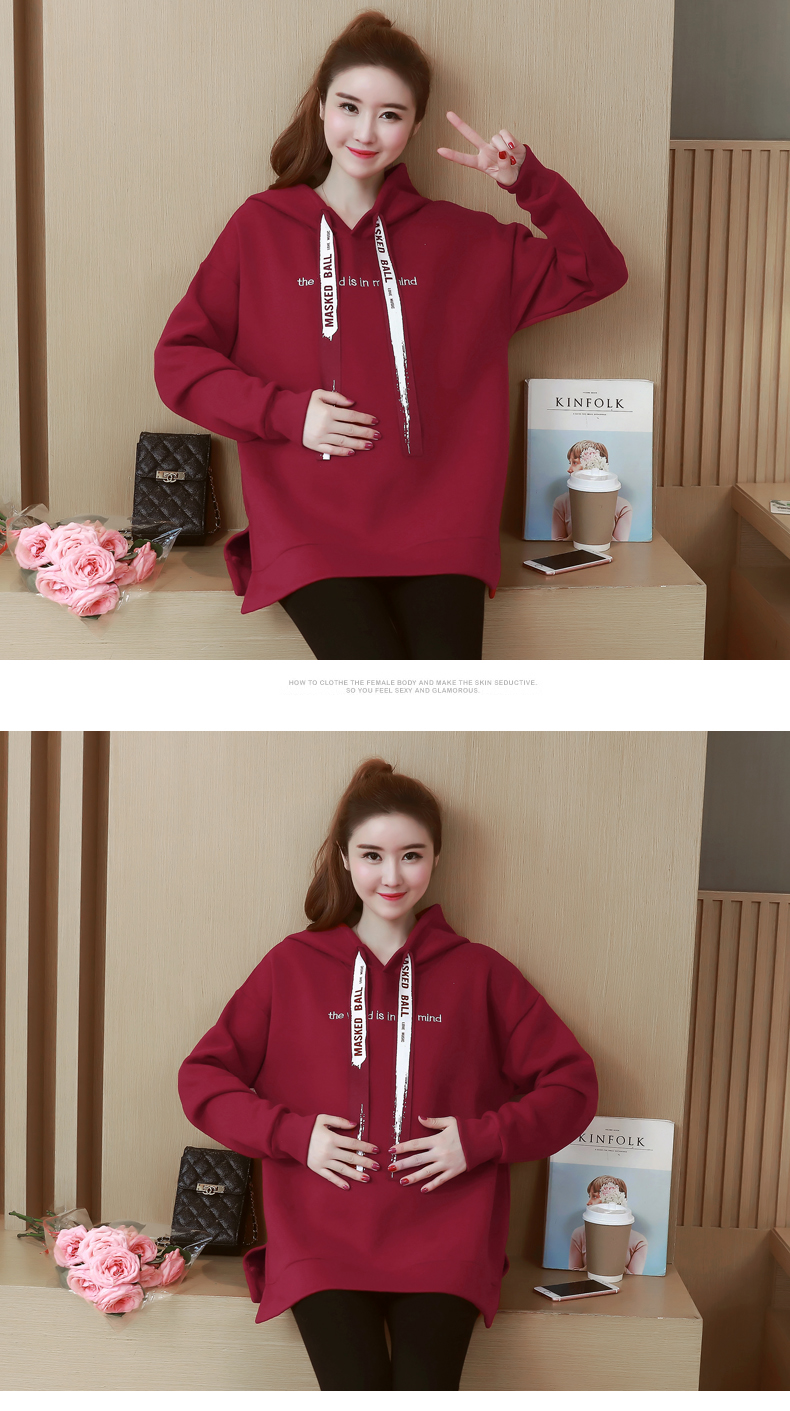 efc56754426 2019 Hot Sale Maternity Tops Hoodies Winter Warm Clothes For ...