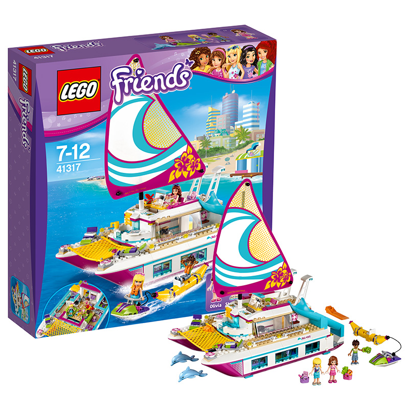 USD 210.81] LEGO friends series 41317 sun No. yacht LEGO Friends ...