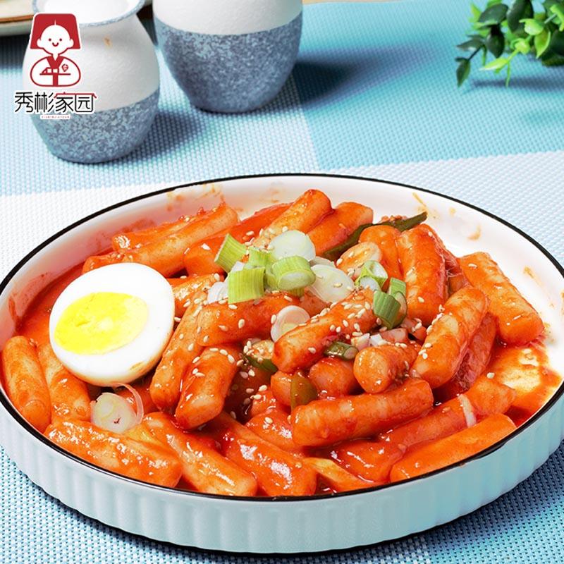 年糕条韩国即食韩式辣炒年糕速食食材