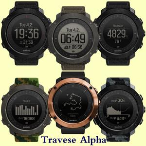 SUUNTO mở rộng Traverse Alpha Red Sea hành động với đồng hồ thể thao ngoài trời Alpha series thám hiểm - Giao tiếp / Điều hướng / Đồng hồ ngoài trời