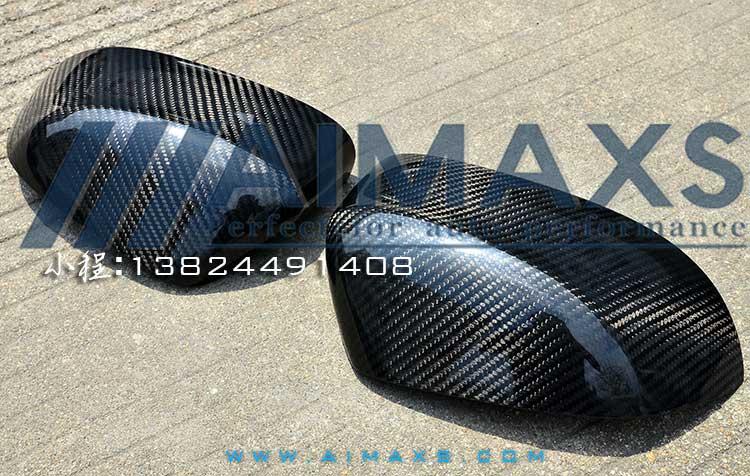 Авто-, Мото-Аксессуары Новые X5 углеродного волокна зеркало заднего вида крышки БМВ ф15 Х5 x5m движения плюс установлен углеродного волокна бокового зеркала корпус