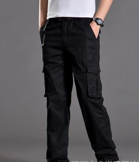 Washing autumn and winter factory new tactics spring and autumn chaos brand loose pants construction men's jeans dry work site