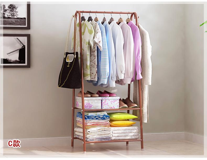 Bedroom Multifunctional Clothes Hanger Rack JLR19F2