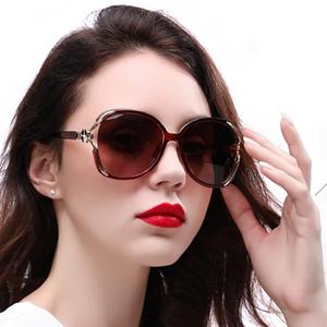 2020新款潮偏光太阳镜圆脸墨镜女士防紫外线时尚眼镜显瘦大脸防风