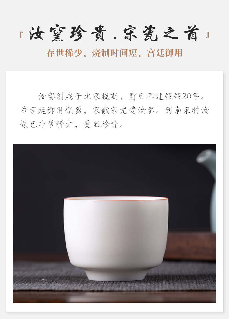 White your up ceramic cups, kung fu tea cup of jingdezhen contracted small cup sample tea cup master CPU