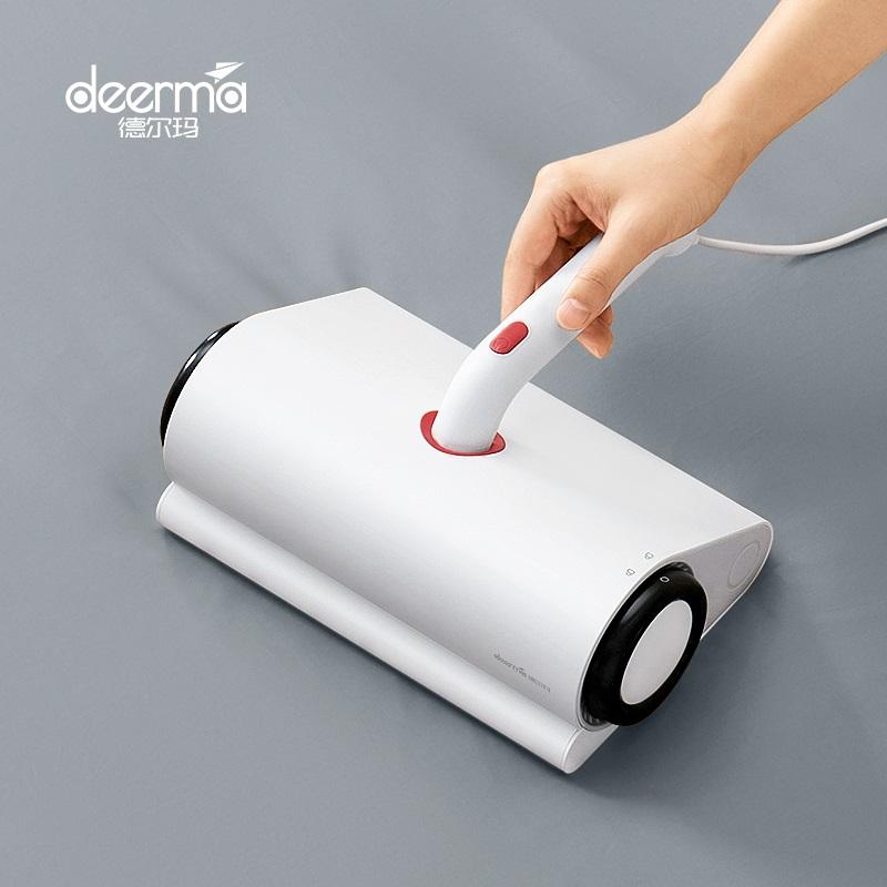 德尔玛除螨仪家用床上小型吸尘器�y床铺去除螨虫神器床上除尘螨迷你