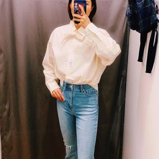 优衣库简约耐看的衬衫,搭牛仔裤美哭了