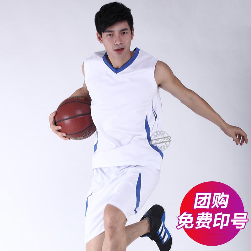 套装服球衣篮球短裤男篮球服定制跑步运动服无袖篮球夏季