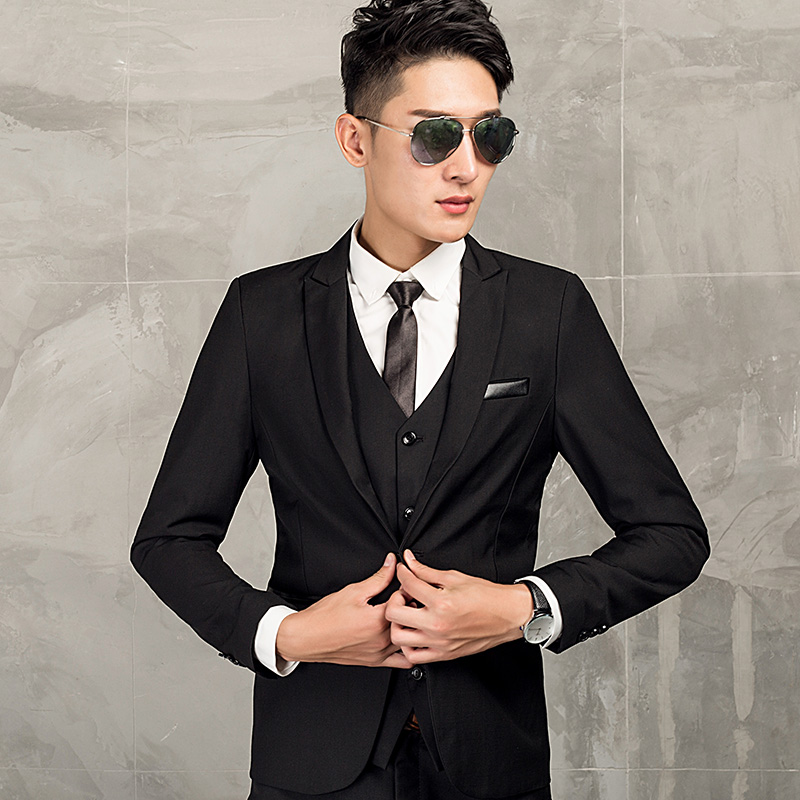 USD 133.13] Men\'s casual suit youth Korean version of slim fit ...
