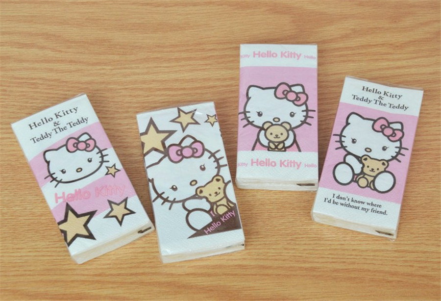 Hello Kitty Pulp Tissue Paper Pack Price Of 3 11street