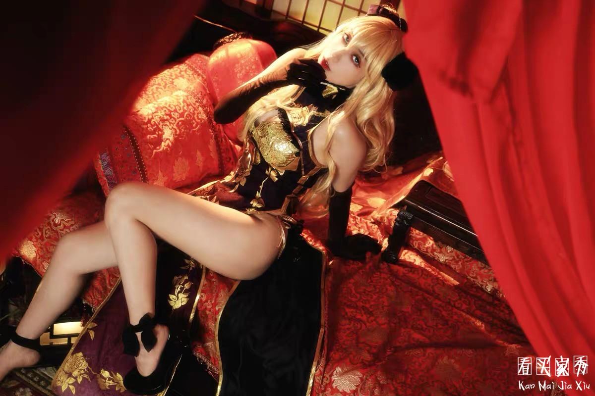 金莲cos服旗袍买家秀,穿上它能拍出大片…