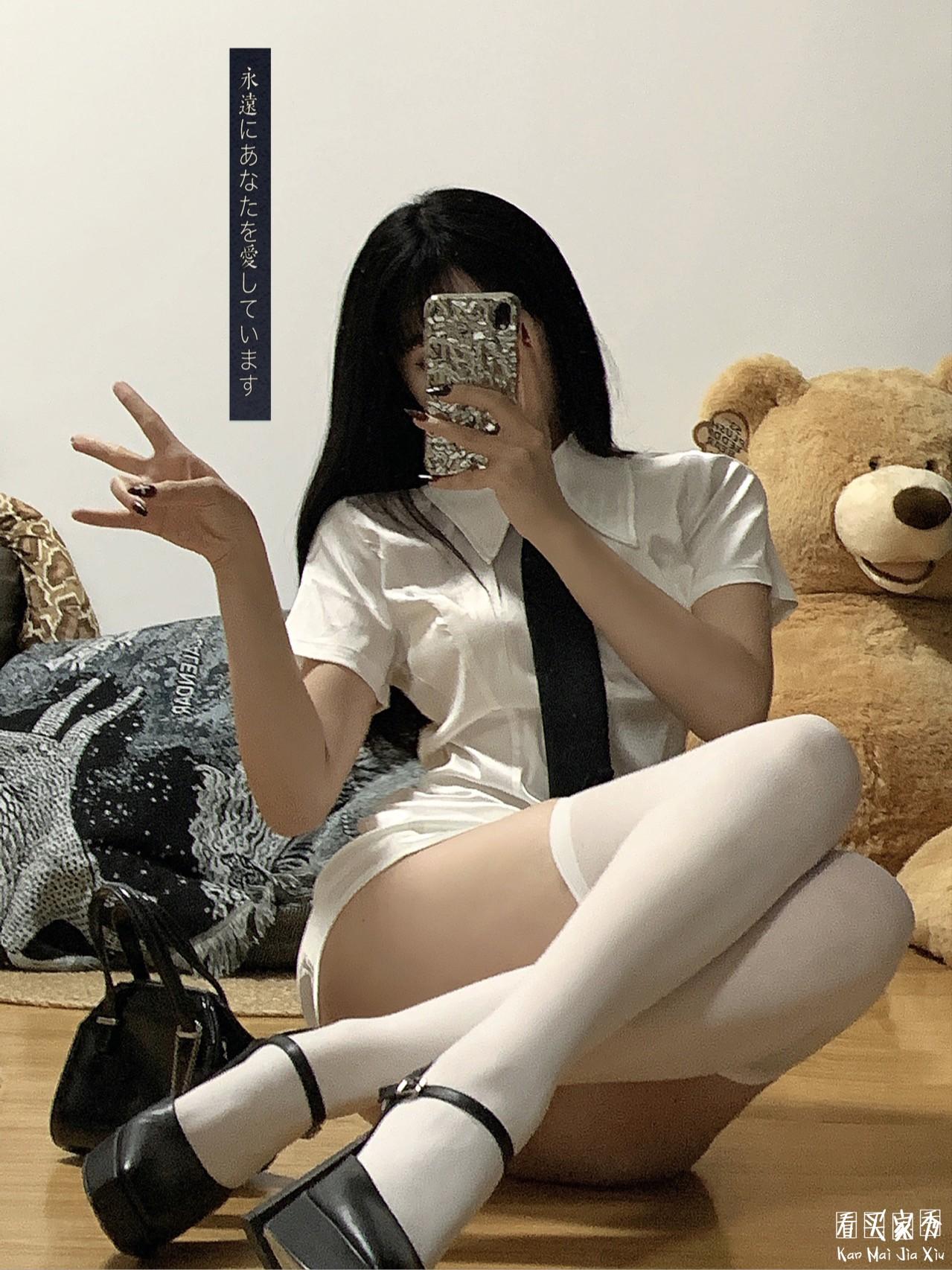 高端衬衫连衣裙买家秀,神仙款韩国小众品牌5