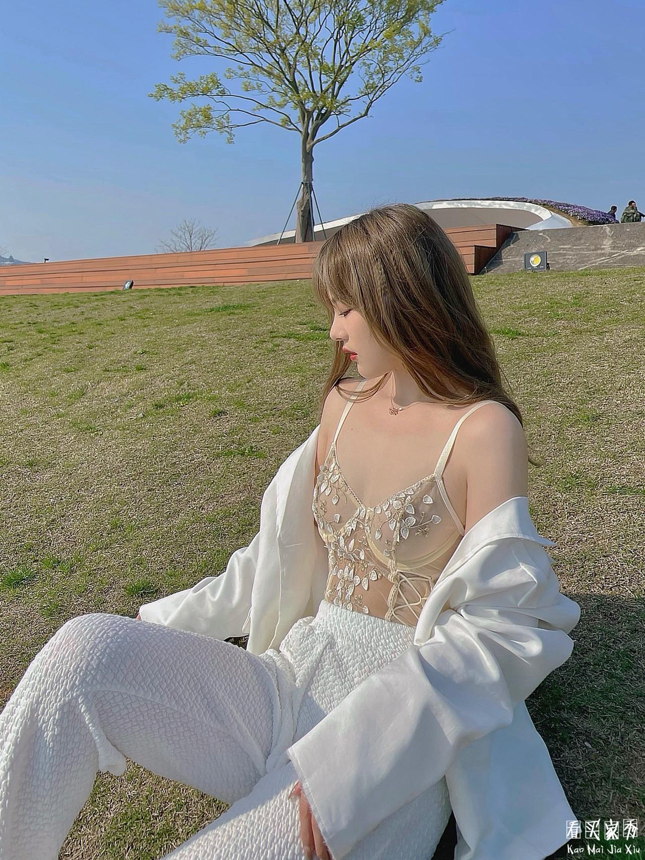 蕾丝刺绣透视内衣买家秀,一件可外穿的神奇内衣