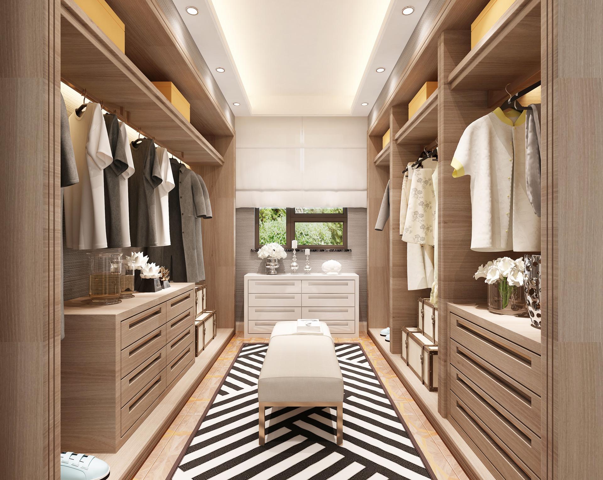 新房做新装,卧室衣柜怎么挑?