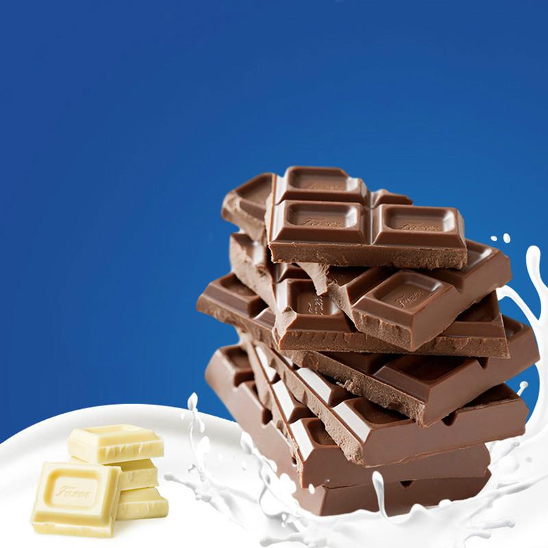 芬兰原装进口Fazer 卡菲泽牛奶纯可可脂巧克力排块年货零食糖果
