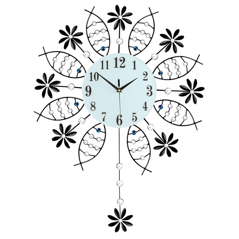轻奢钟表挂钟客厅现代简约个性创意表家用时尚艺术装饰时钟挂墙