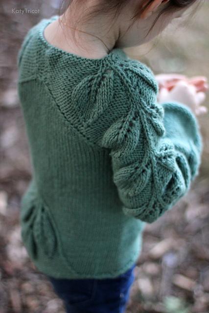 《贝儿》女童套头毛衣 - 壹一 - 壹一编织博客