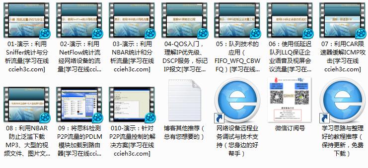 经典视频案例分享十五:QOS入门与流量监管实战演示
