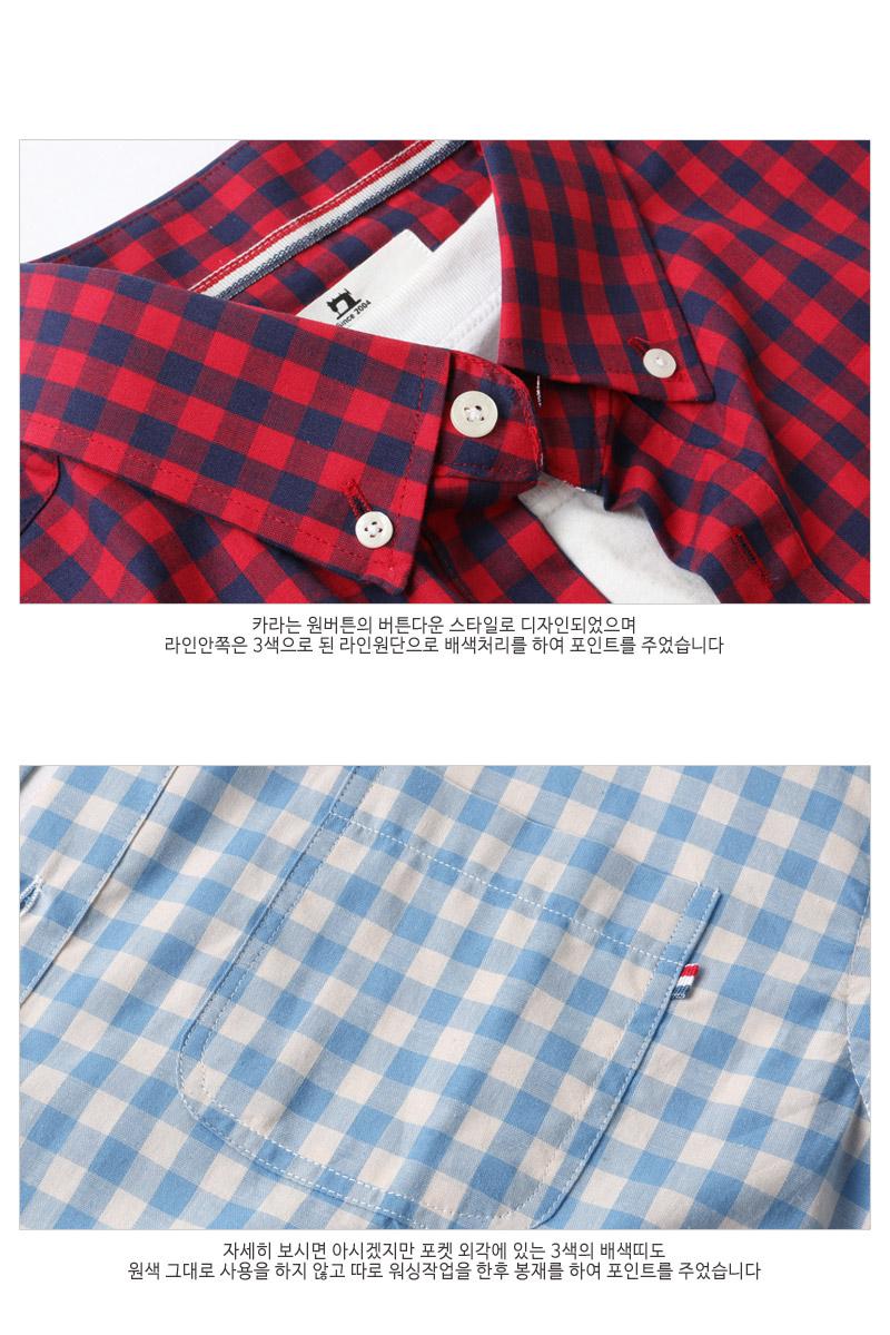 Spring 2020 new Korean version slim men's small grid shirt men's long-sleeved cotton casual shirt trend inch shirt 28 Online shopping Bangladesh