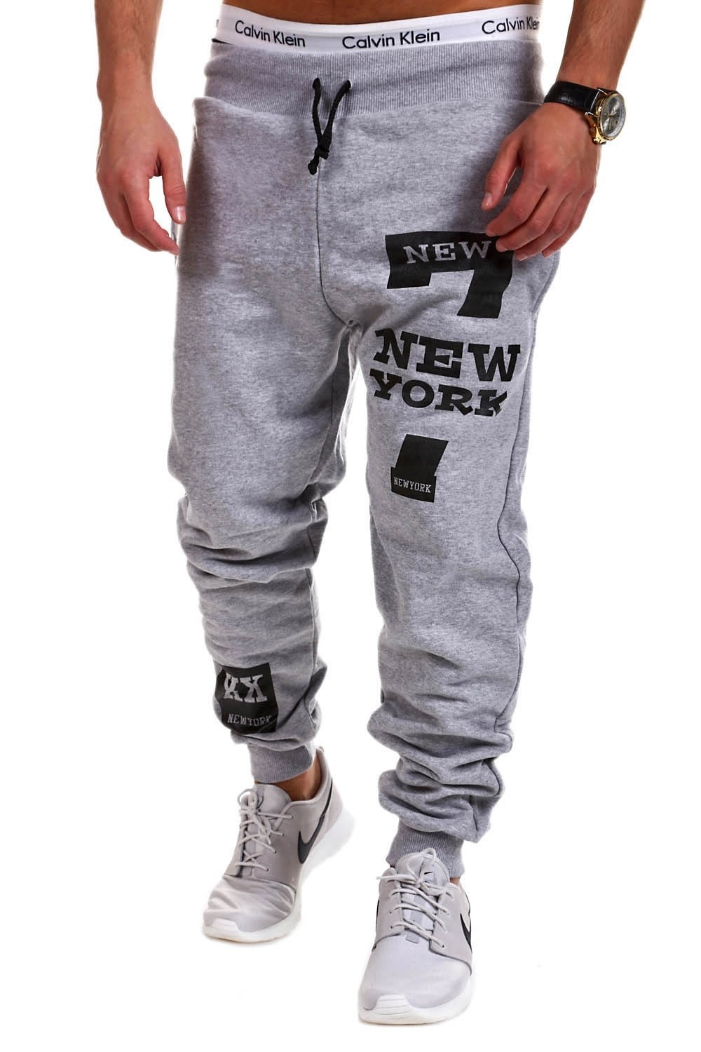 214119d7a0c Mens Joggers 2018 Brand Male Trousers Men Pants Casual Pants Sweatpants  Jogger Black Large Size 4XL light grey l   Kilimall Kenya