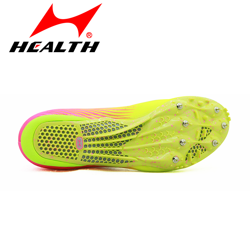 677f6fa60 ... Hailes track and field sneakers long jump sprint nail shoes students  test competition special running spikes