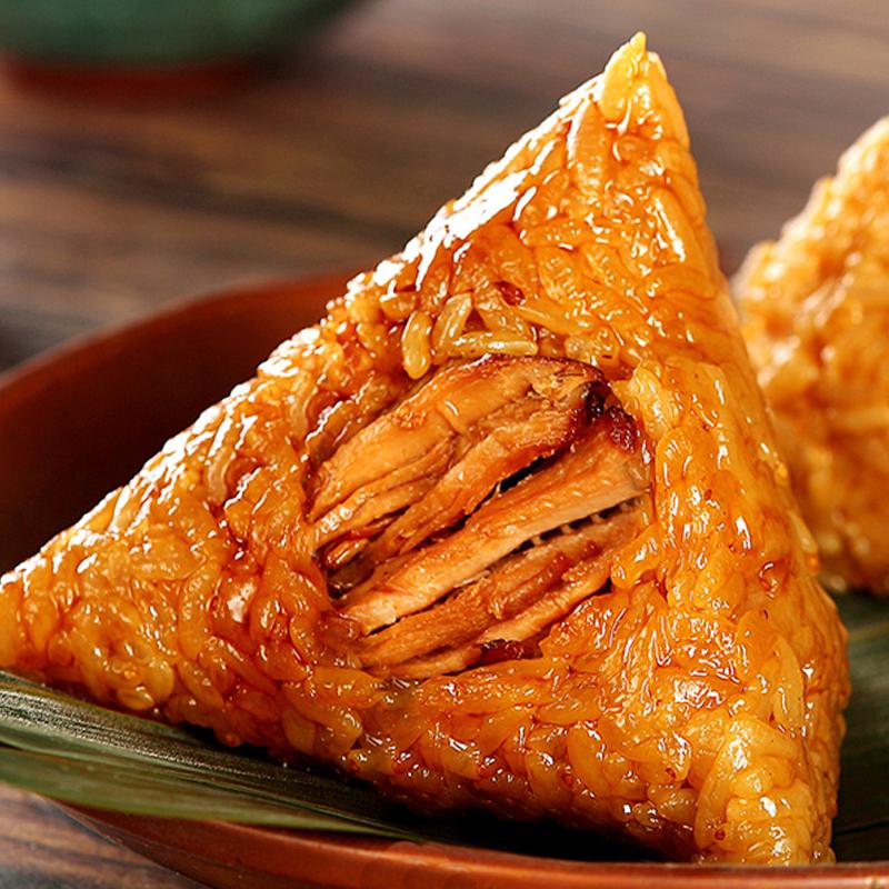 【6只*100g】鲜肉豆沙蜜枣味粽子