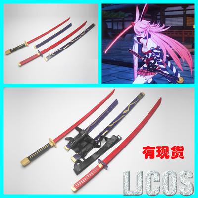 taobao agent 【LJCOS】Honkai Xueyuan Honkai 3 Yae Sakura Rebellious Miko Dual Blade Weapon Cosplay Props