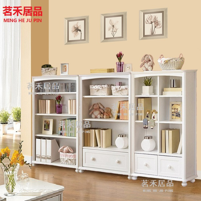 Korean Bookcase 60 Modern Minimalist 80 Solid Wood Board Bookshelf Childrens Study
