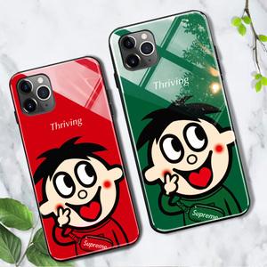 苹果11手机壳旺仔牛奶iphone11旺旺苹果x情侣iphonexr潮牌iphone11promax玻璃xsmax卡通8