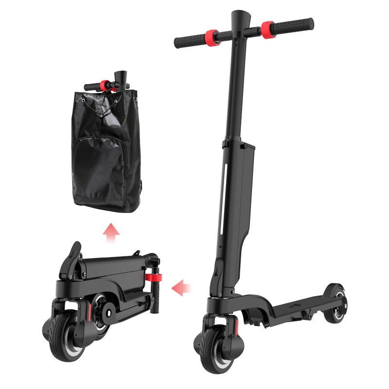 水寒出行网红智能滑板车蓝牙可拆卸锂电池四重折叠两轮代步电动车
