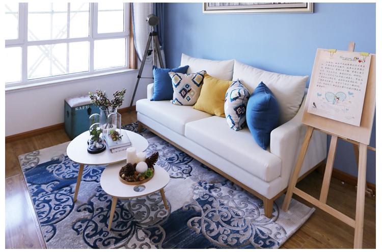 道奇北欧家具茶几日式现代风格实木时尚小户型简约可爱小巧小桌子