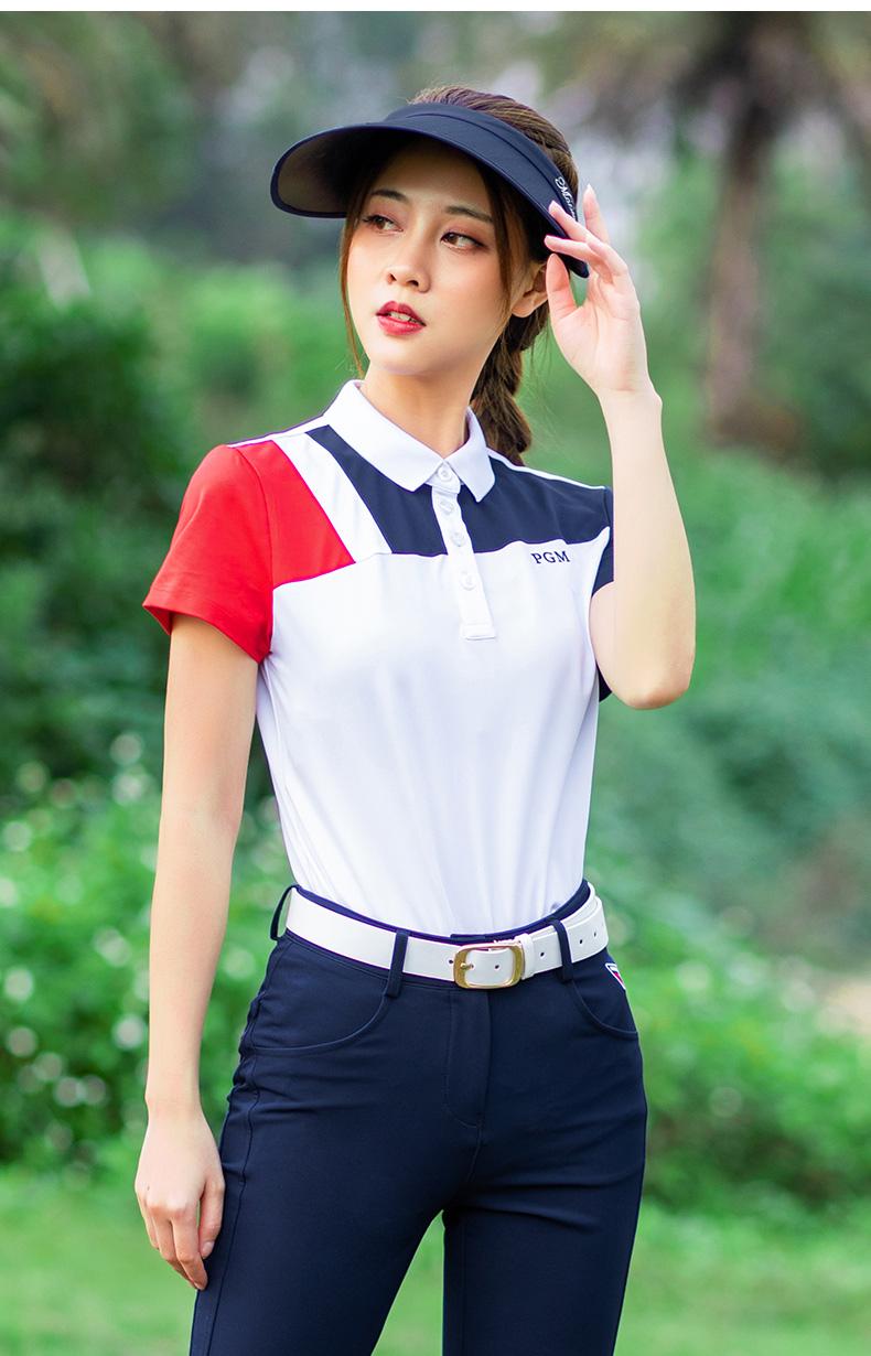 高尔夫女装套装春夏季短袖恤网球服速干上衣服高尔夫球服装女详细照片