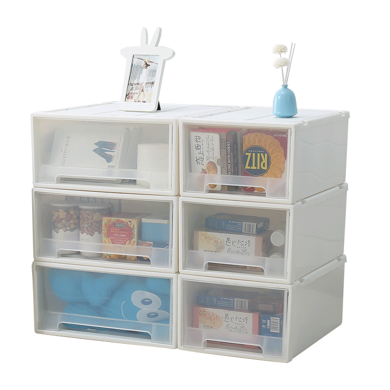 Drawer Storage Box Storage Cabinet Plastic Wardrobe Storage Finishing Box Clothes Storage Box Free Combination Storage Box  sc 1 st  eBuy7.com & Drawer Storage Box Storage Cabinet Plastic Wardrobe Storage ...