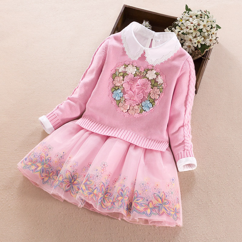 USD 70.21] Girls autumn 2019 new princess dress children\u0027s