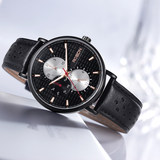 Laothers Rosdn Men's Watch Fashion Recreation Waterproof Multi-Function Watch 3630
