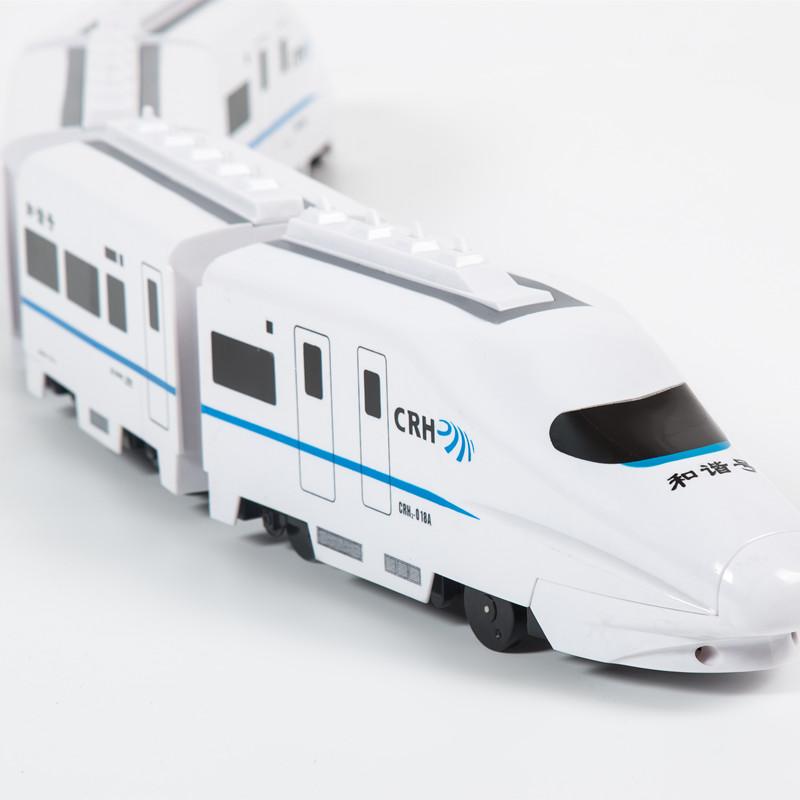 Ребенок электрический универсальный гармония маленький поезд игрушка моделирование высокий железо эму модель мальчик игрушка 1-236 лет