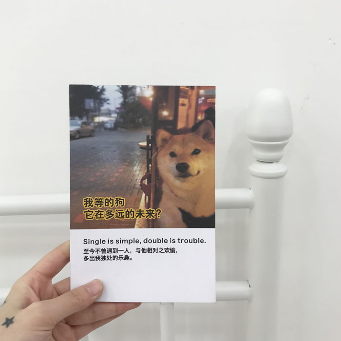 SINGLE DOG NOTEBOOK