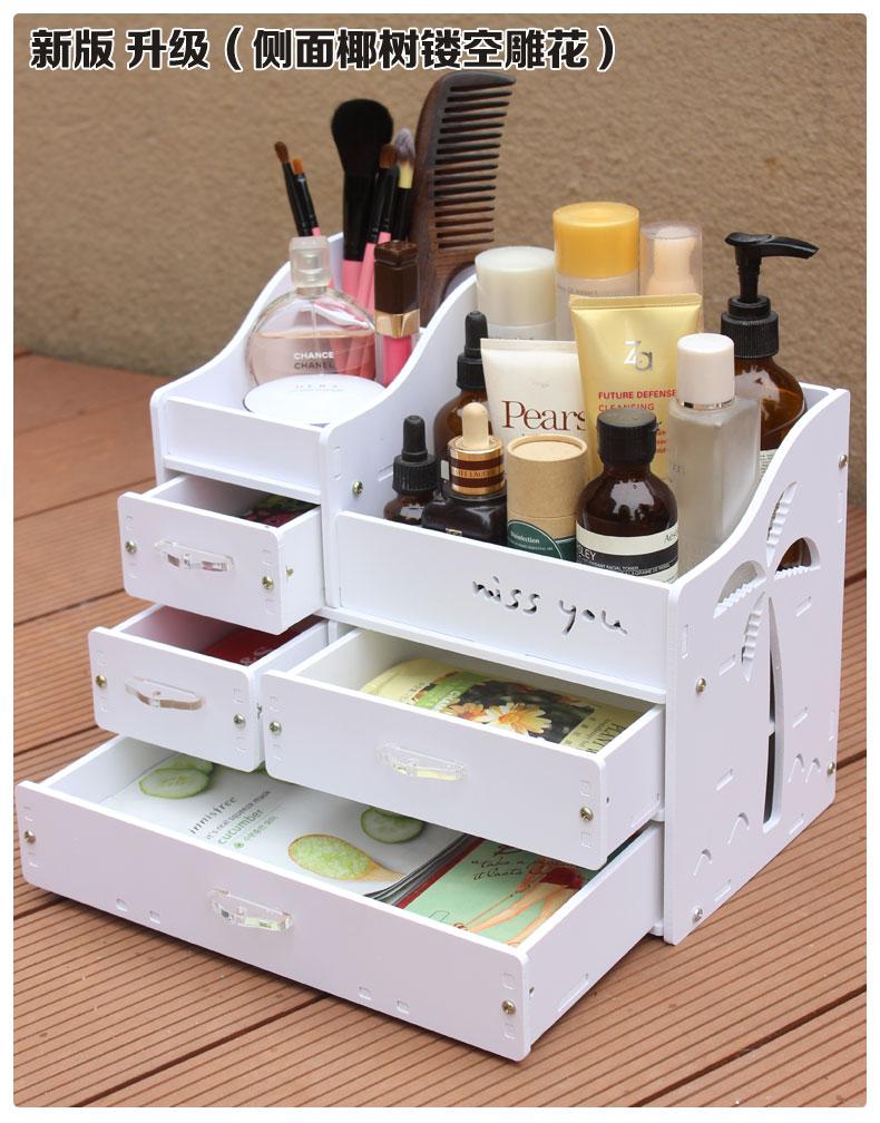 White makeup desk