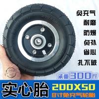Электрический скутер 200x50 трубка шина взрывозащищенный шина 8 дюймовый 10 дюймовый внутренний шина заряд пневматическая шина твердый шина