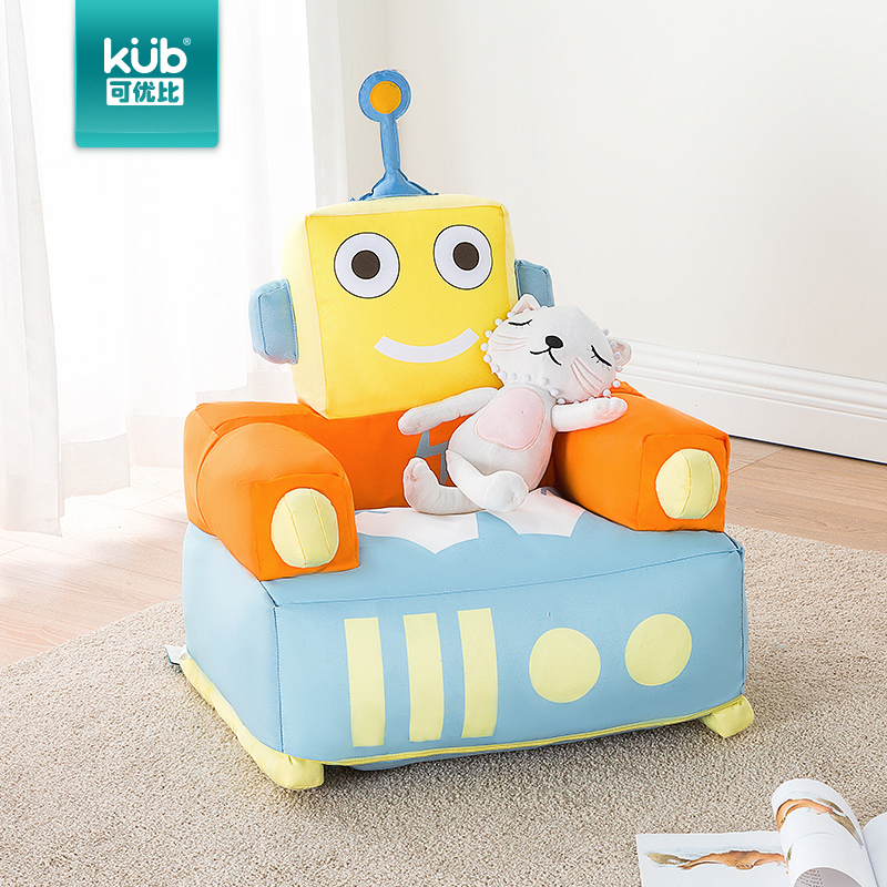 Kub Can Be Better Than Children S Sofa Baby Chair Lazy Cartoon Cute Washable Combination
