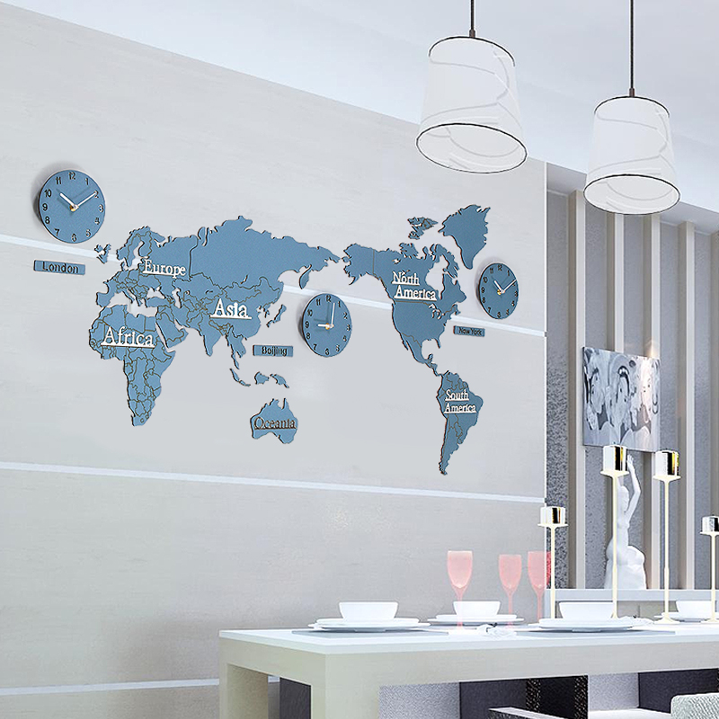World map office wall hanging nordic restaurant wall decoration wall world map office wall hanging nordic restaurant wall decoration wall stickers pendant living room sofa wall hangings gumiabroncs