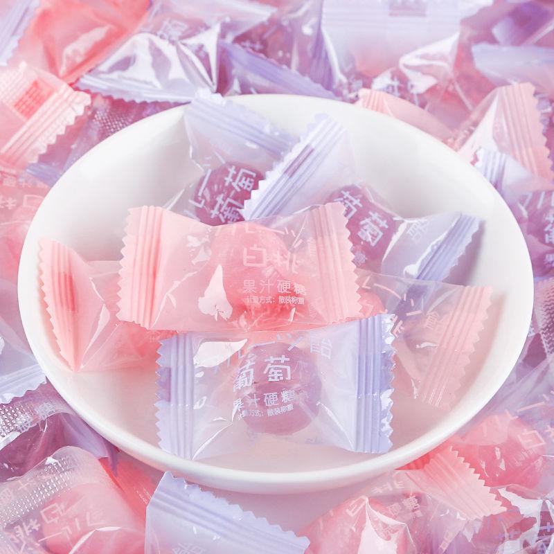 日系白桃水果汁硬糖果