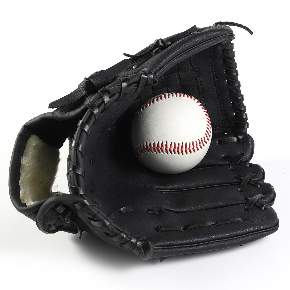 Оригинал утепленный Бейсбол Infield pitcher перчатки софтбол перчатки детские Несовершеннолетний взрослый полностью стиль бесплатная доставка по китаю