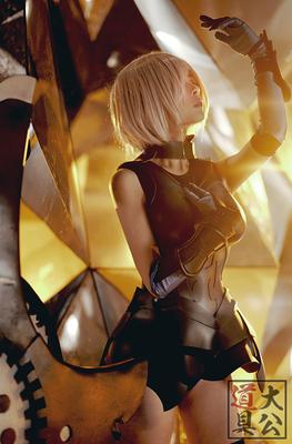 taobao agent 【Duke props】Fate Grand Order FGO Matthew School Girl Shield Girl Shield Girl COS Armor