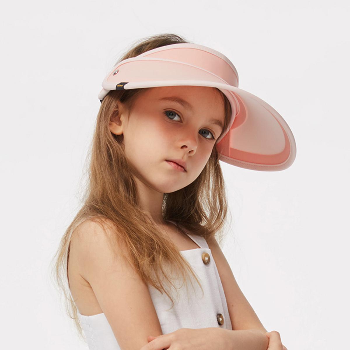 【蕉下】儿童遮阳空顶防晒帽-时时淘