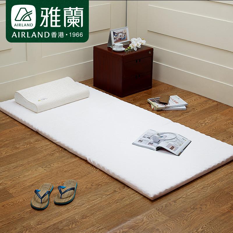 Yalan матрас светлый чистый студент матрас ребристый Симмонс высокая Многослойная кровать и тонкая накладка со складыванием матрас