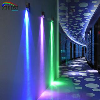 Бра,  Двуглавый идти галерея живая дорога стена свет цвет свет LED фон стена свет бар KTV освещение красочный комнатный настенный светильник, цена 343 руб