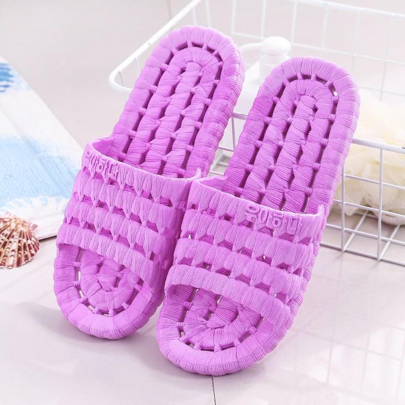 镂空厕所漏孔漏眼洞洞鞋底漏空洗澡拖鞋防滑透气的浴室宿舍夏天女