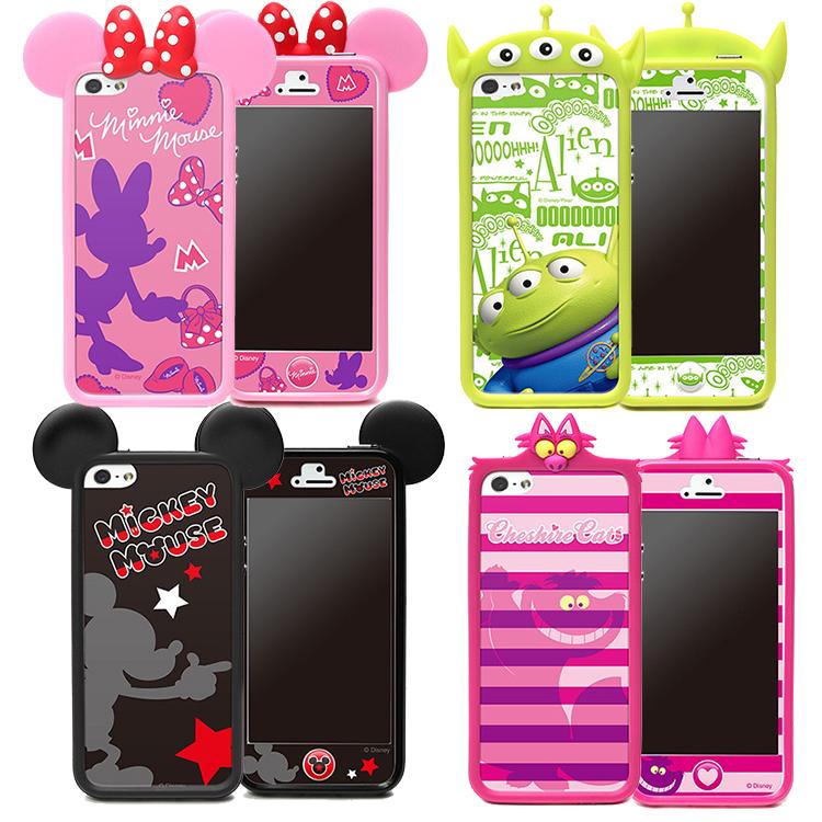 日本加贴迪士尼苹果se手机壳边框轻松熊iphone5s手机壳套壳代购