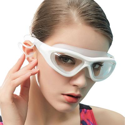 【力酷】游泳镜近视泳镜高清防雾